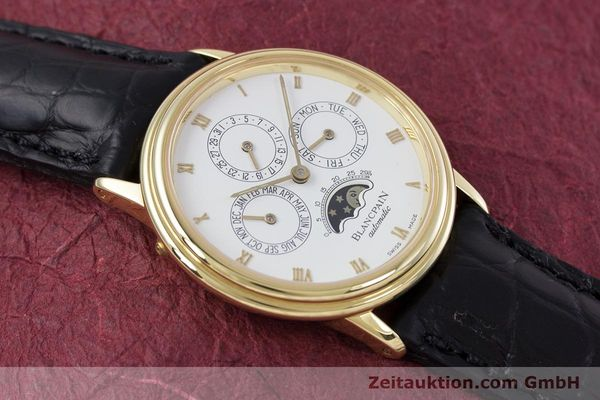 Used luxury watch Blancpain Villeret 18 ct gold automatic Kal. 95  | 153286 16