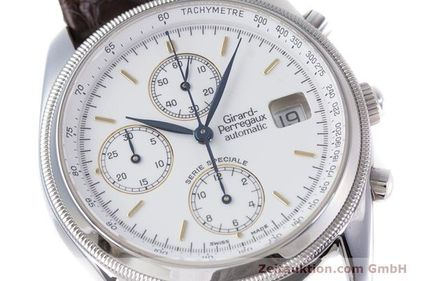 Used luxury watch Girard Perregaux GP 4900 chronograph steel automatic Kal. 8000-314 LIMITED EDITION | 153290 02