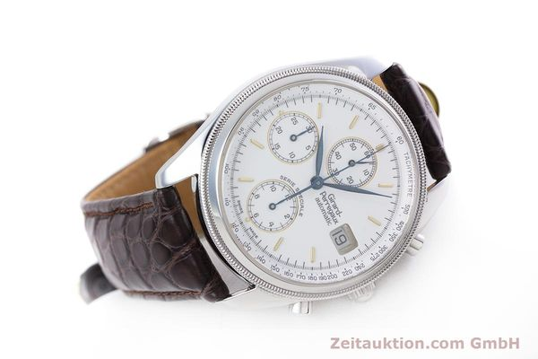Used luxury watch Girard Perregaux GP 4900 chronograph steel automatic Kal. 8000-314 LIMITED EDITION | 153290 03