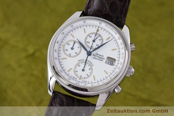 Used luxury watch Girard Perregaux GP 4900 chronograph steel automatic Kal. 8000-314 LIMITED EDITION | 153290 04