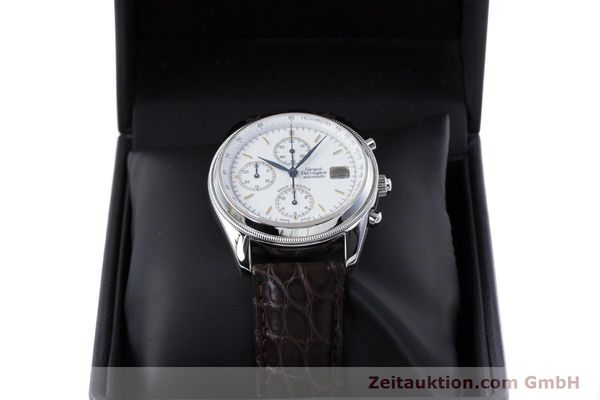 Used luxury watch Girard Perregaux GP 4900 chronograph steel automatic Kal. 8000-314 LIMITED EDITION | 153290 07