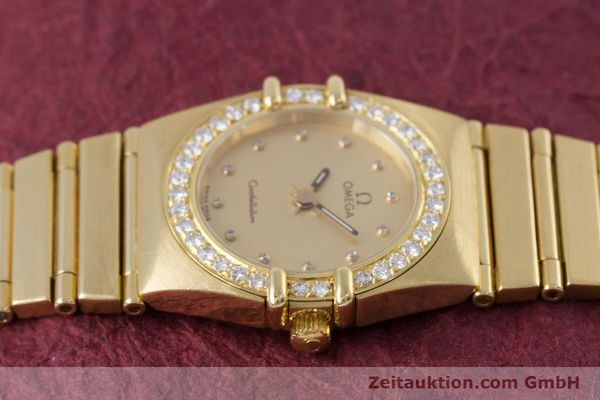 gebrauchte Luxusuhr Omega Constellation 18k Gold Quarz Kal. ETA 976.001  | 153292 05