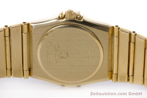 gebrauchte Luxusuhr Omega Constellation 18k Gold Quarz Kal. ETA 976.001  | 153292 09