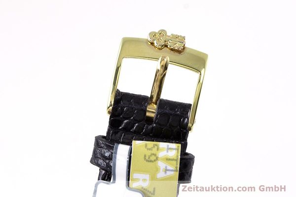 gebrauchte Luxusuhr Corum Goldbarren 18k Gold Quarz Kal. 602.1 Ref. 42400  | 153294 11