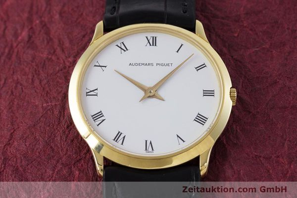 Used luxury watch Audemars Piguet * 18 ct gold manual winding Kal. 2003/1 Ref. 922  | 153299 16
