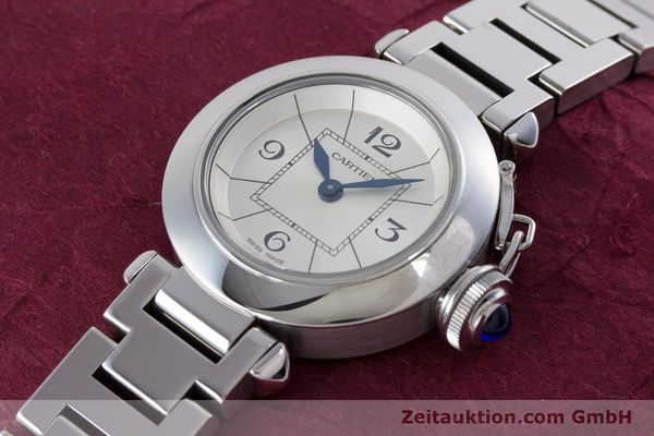 Used luxury watch Cartier Miss Pasha steel quartz Kal. 157 Ref. 2973  | 153304 01