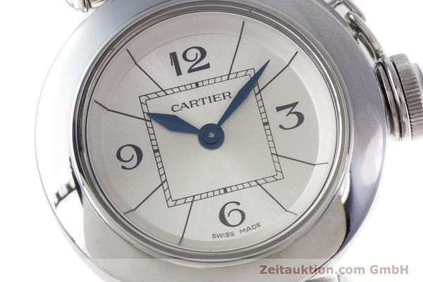 Used luxury watch Cartier Miss Pasha steel quartz Kal. 157 Ref. 2973  | 153304 02