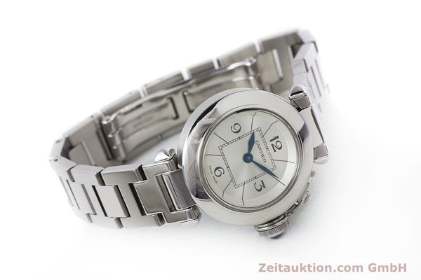 Used luxury watch Cartier Miss Pasha steel quartz Kal. 157 Ref. 2973  | 153304 03