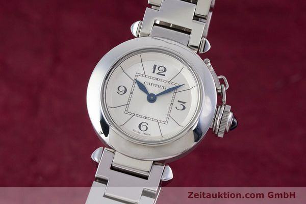 Used luxury watch Cartier Miss Pasha steel quartz Kal. 157 Ref. 2973  | 153304 04