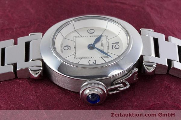 Used luxury watch Cartier Miss Pasha steel quartz Kal. 157 Ref. 2973  | 153304 05