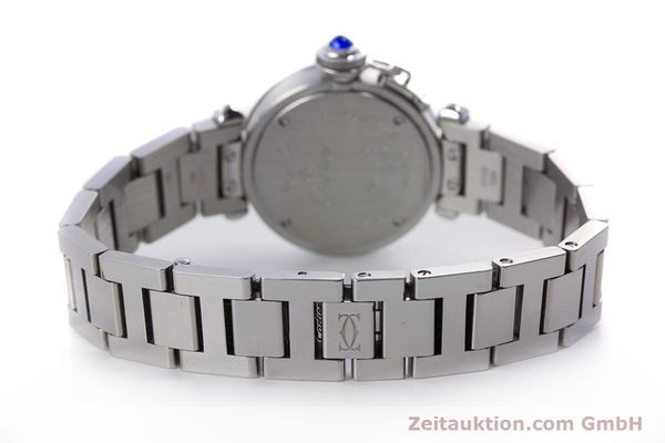 Used luxury watch Cartier Miss Pasha steel quartz Kal. 157 Ref. 2973  | 153304 11
