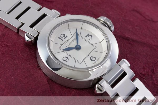 Used luxury watch Cartier Miss Pasha steel quartz Kal. 157 Ref. 2973  | 153304 14
