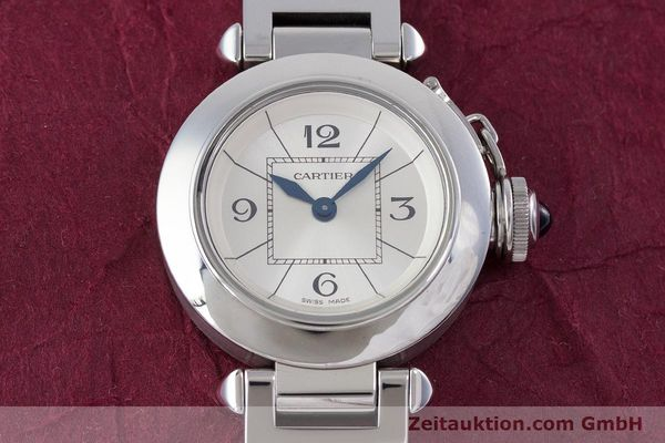 Used luxury watch Cartier Miss Pasha steel quartz Kal. 157 Ref. 2973  | 153304 15