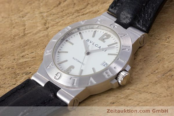Used luxury watch Bvlgari Diagono 18 ct white gold automatic Kal. 220MBBV Ref. LCW35G  | 153311 01