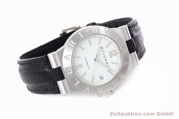 Used luxury watch Bvlgari Diagono 18 ct white gold automatic Kal. 220MBBV Ref. LCW35G  | 153311 03