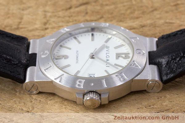 Used luxury watch Bvlgari Diagono 18 ct white gold automatic Kal. 220MBBV Ref. LCW35G  | 153311 05