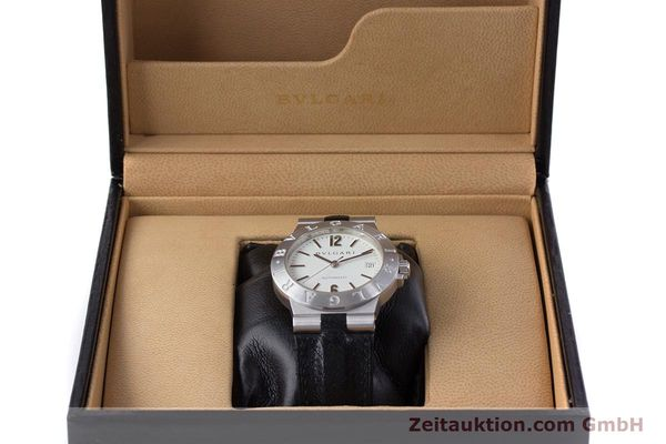 Used luxury watch Bvlgari Diagono 18 ct white gold automatic Kal. 220MBBV Ref. LCW35G  | 153311 07