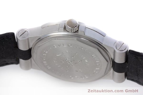 Used luxury watch Bvlgari Diagono 18 ct white gold automatic Kal. 220MBBV Ref. LCW35G  | 153311 08