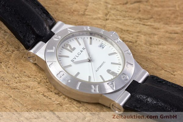Used luxury watch Bvlgari Diagono 18 ct white gold automatic Kal. 220MBBV Ref. LCW35G  | 153311 15