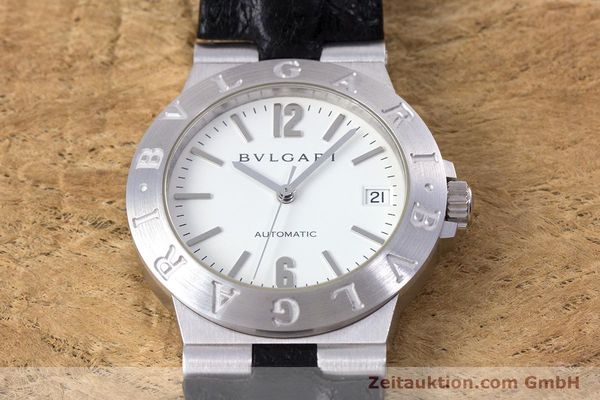 Used luxury watch Bvlgari Diagono 18 ct white gold automatic Kal. 220MBBV Ref. LCW35G  | 153311 16
