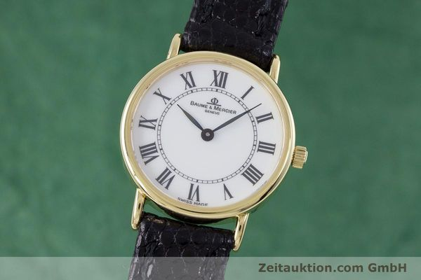Used luxury watch Baume & Mercier * 18 ct gold quartz Kal. BM5095 ETA 976.001 Ref. 16772A  | 153317 04