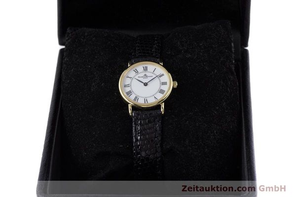 Used luxury watch Baume & Mercier * 18 ct gold quartz Kal. BM5095 ETA 976.001 Ref. 16772A  | 153317 07