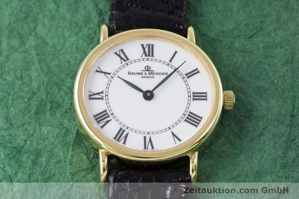 Used luxury watch Baume & Mercier * 18 ct gold quartz Kal. BM5095 ETA 976.001 Ref. 16772A  | 153317 13