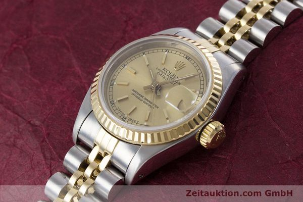 Used luxury watch Rolex Lady Datejust steel / gold automatic Kal. 2135 Ref. 69173  | 153321 01