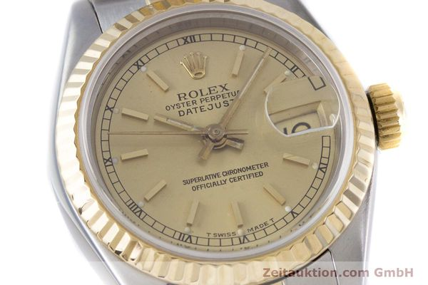 Used luxury watch Rolex Lady Datejust steel / gold automatic Kal. 2135 Ref. 69173  | 153321 02