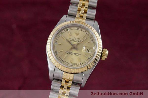 Used luxury watch Rolex Lady Datejust steel / gold automatic Kal. 2135 Ref. 69173  | 153321 04