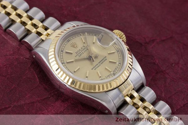 Used luxury watch Rolex Lady Datejust steel / gold automatic Kal. 2135 Ref. 69173  | 153321 17