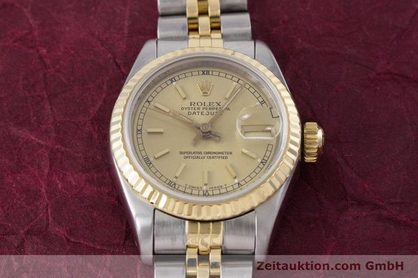 Used luxury watch Rolex Lady Datejust steel / gold automatic Kal. 2135 Ref. 69173  | 153321 18