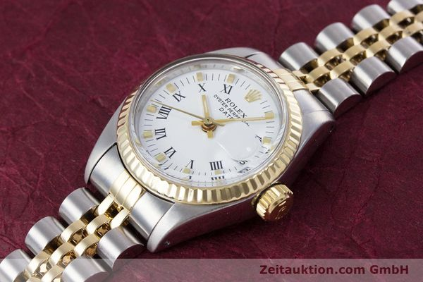 Used luxury watch Rolex Lady Date steel / gold automatic Kal. 2030 Ref. 6917  | 153323 01