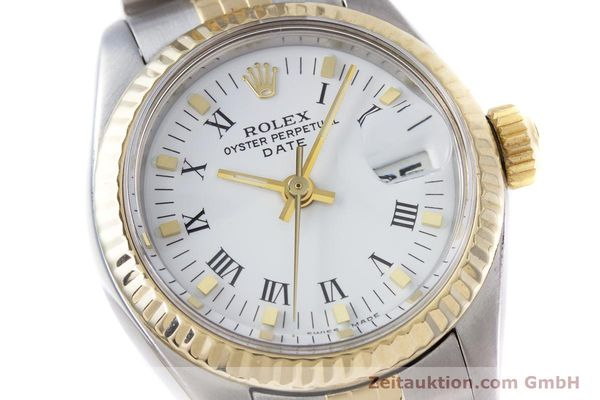Used luxury watch Rolex Lady Date steel / gold automatic Kal. 2030 Ref. 6917  | 153323 02