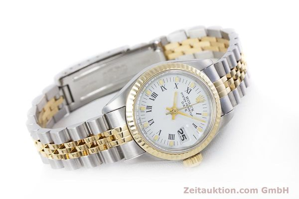 Used luxury watch Rolex Lady Date steel / gold automatic Kal. 2030 Ref. 6917  | 153323 03