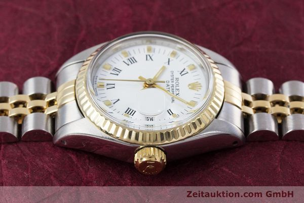 Used luxury watch Rolex Lady Date steel / gold automatic Kal. 2030 Ref. 6917  | 153323 05
