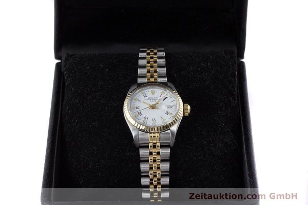 Used luxury watch Rolex Lady Date steel / gold automatic Kal. 2030 Ref. 6917  | 153323 07