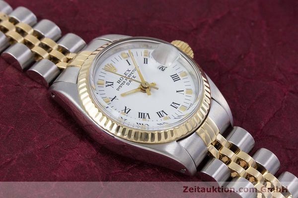Used luxury watch Rolex Lady Date steel / gold automatic Kal. 2030 Ref. 6917  | 153323 14