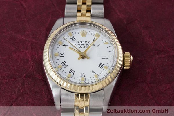 Used luxury watch Rolex Lady Date steel / gold automatic Kal. 2030 Ref. 6917  | 153323 15