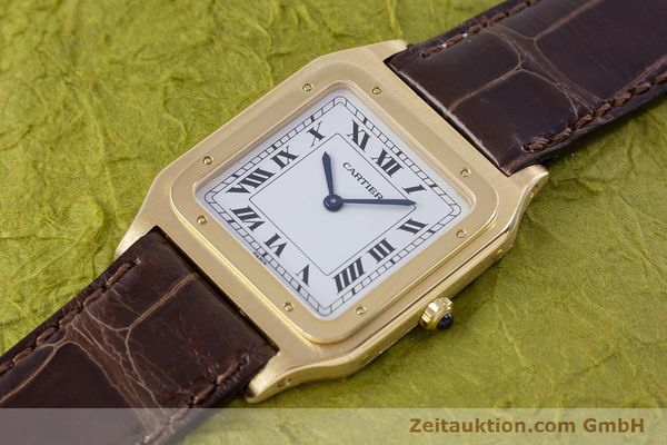 Used luxury watch Cartier Panthere 18 ct gold manual winding Kal. 21  | 153324 01