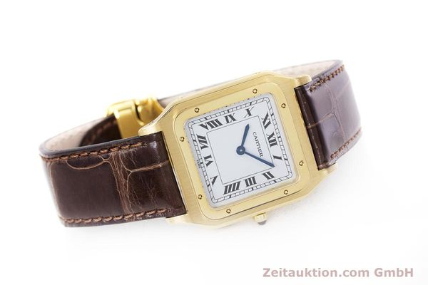 Used luxury watch Cartier Panthere 18 ct gold manual winding Kal. 21  | 153324 03