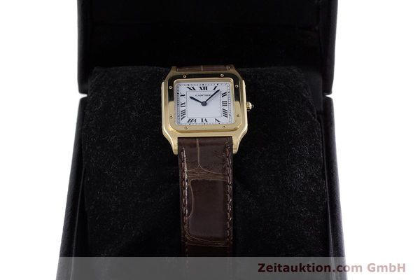 Used luxury watch Cartier Panthere 18 ct gold manual winding Kal. 21  | 153324 07