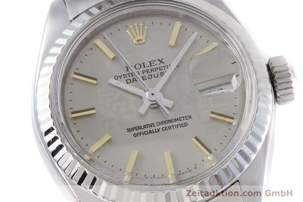 Used luxury watch Rolex Lady Datejust steel / white gold automatic Kal. 2030 Ref. 6917  | 153330 02
