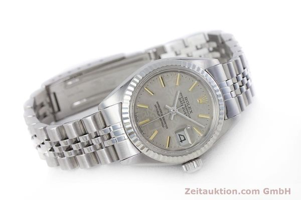 Used luxury watch Rolex Lady Datejust steel / white gold automatic Kal. 2030 Ref. 6917  | 153330 03