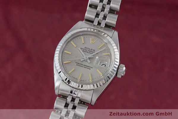 Used luxury watch Rolex Lady Datejust steel / white gold automatic Kal. 2030 Ref. 6917  | 153330 04