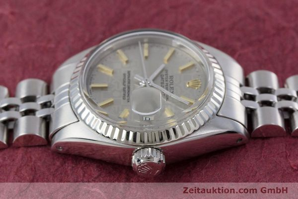 Used luxury watch Rolex Lady Datejust steel / white gold automatic Kal. 2030 Ref. 6917  | 153330 05