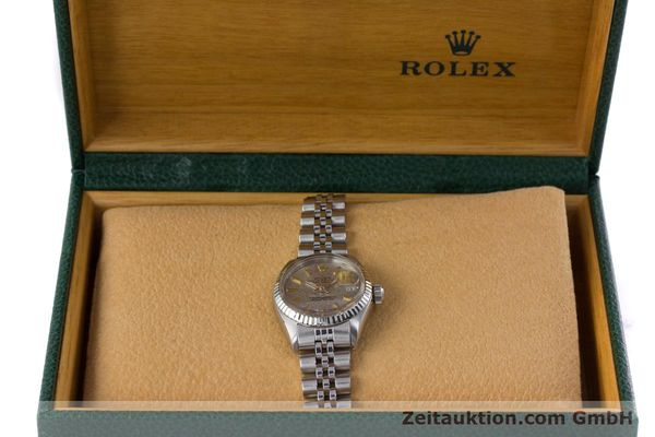 Used luxury watch Rolex Lady Datejust steel / white gold automatic Kal. 2030 Ref. 6917  | 153330 07