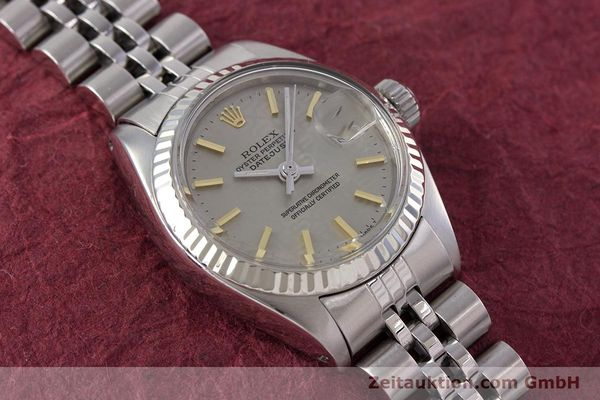Used luxury watch Rolex Lady Datejust steel / white gold automatic Kal. 2030 Ref. 6917  | 153330 16