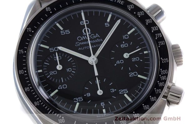 Used luxury watch Omega Speedmaster chronograph steel automatic Kal. 3220  | 153335 02