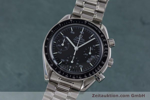 Used luxury watch Omega Speedmaster chronograph steel automatic Kal. 3220  | 153335 04